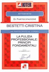 impresa di pulizie certificata