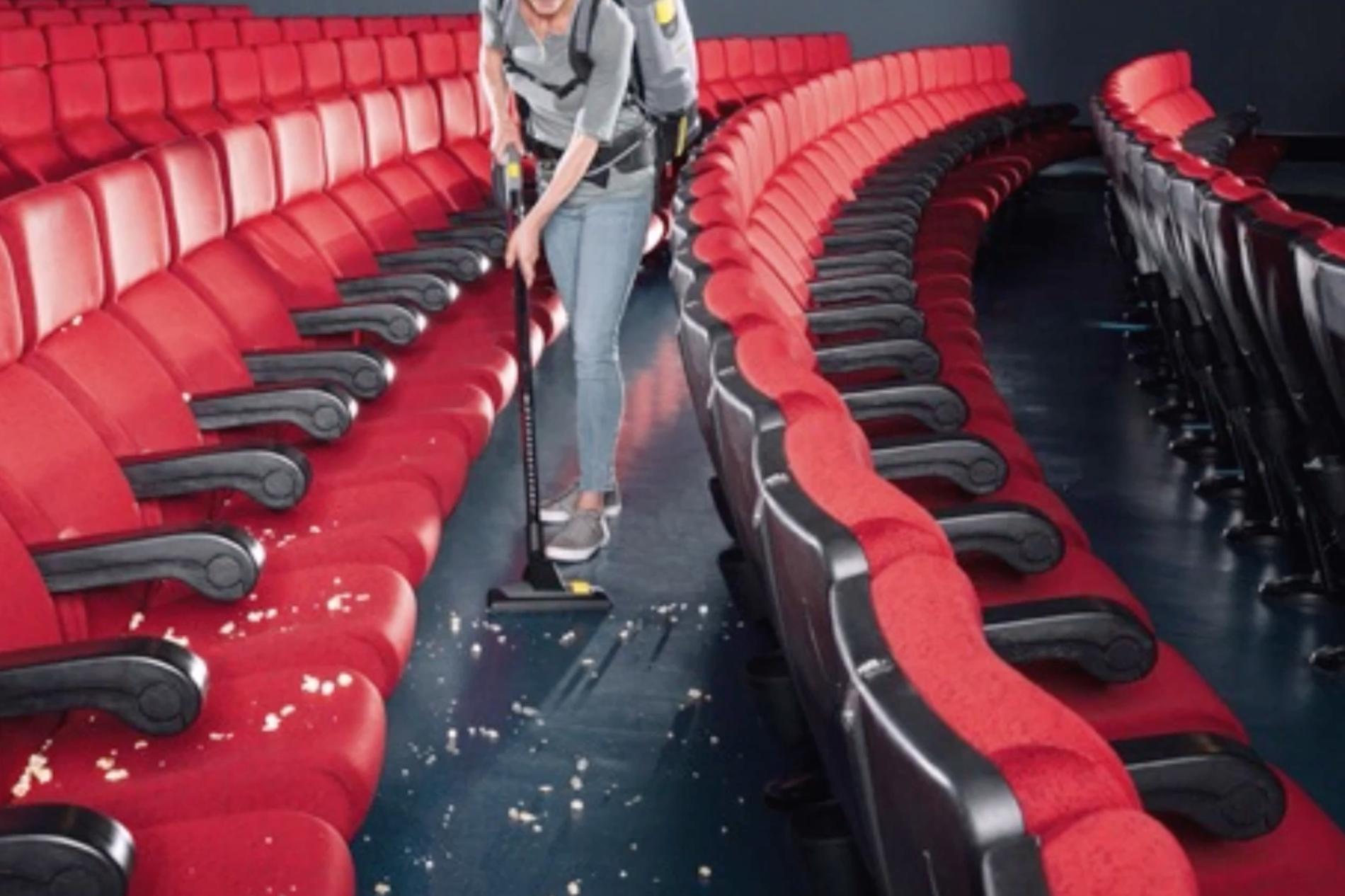 impresa pulizia cinema